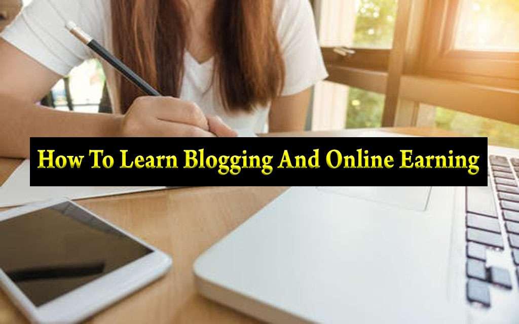 learn blogging techno usman